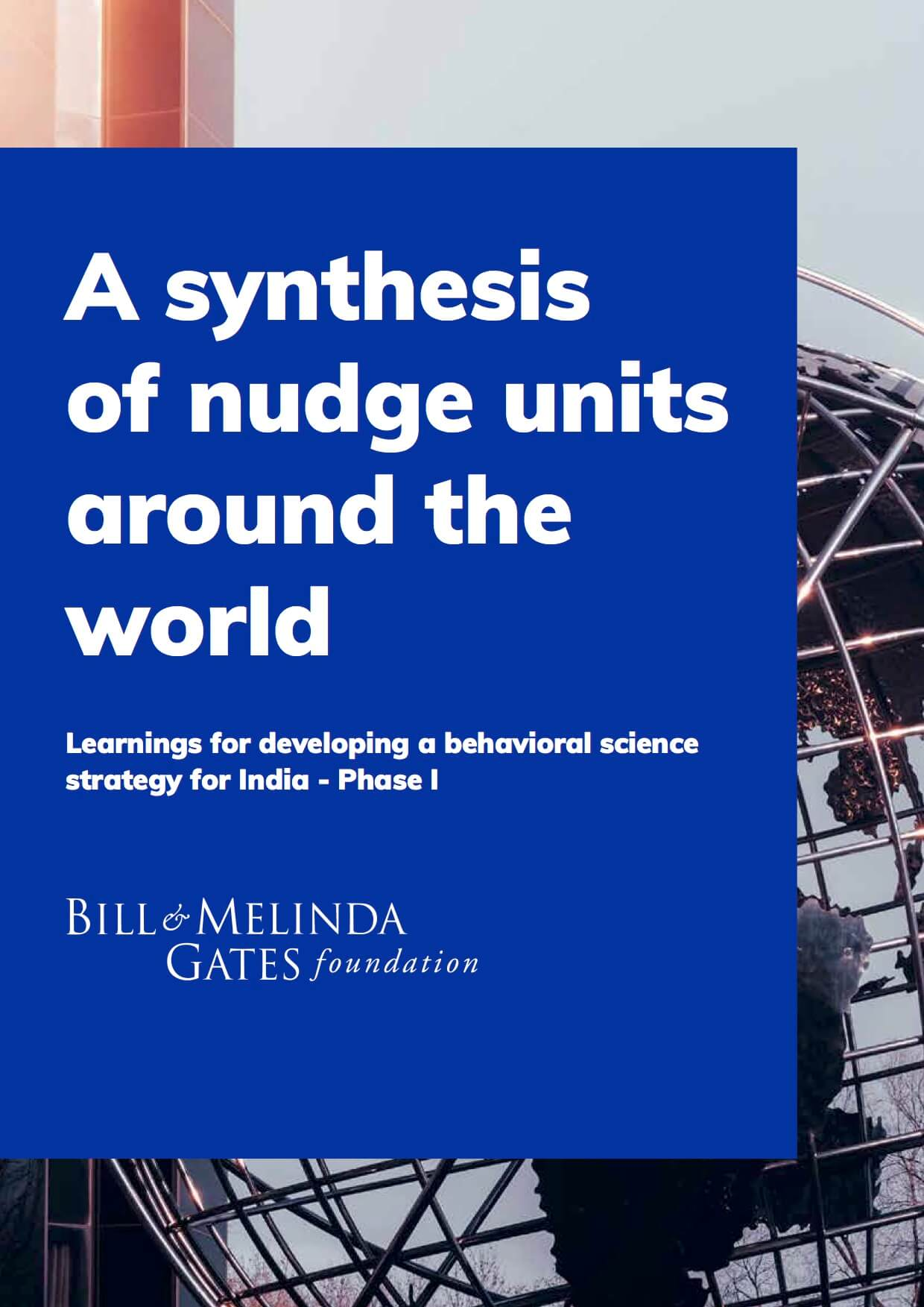 A synthesis of nudge units around the world